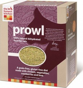 Product review: Prowl Dehydrated Raw cat food