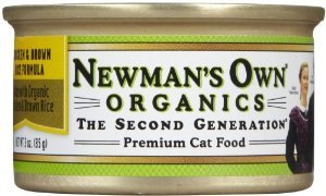 Product Review: Newman's Own Organic Chicken & Brown Rice Formula for Cats