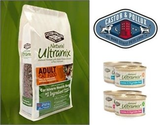 Natural Ultramix Cat Food by Castor & Pollux