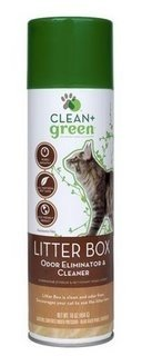 Product Review: CLEAN+GREEN's Litter Box Odor Eliminator & Cleaner