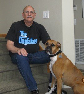 Man walks into a rescue… and walks out a Dogfather