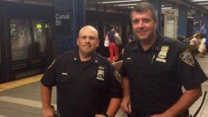 NYPD Rescues Kitten From Subway Tracks
