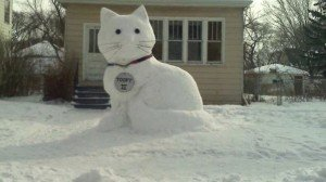 Snowman Inspiration For Cat Lovers #Snowcat [PICTURES]