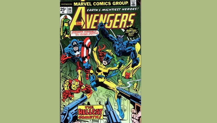 Hellcat swoops in with The Avengers