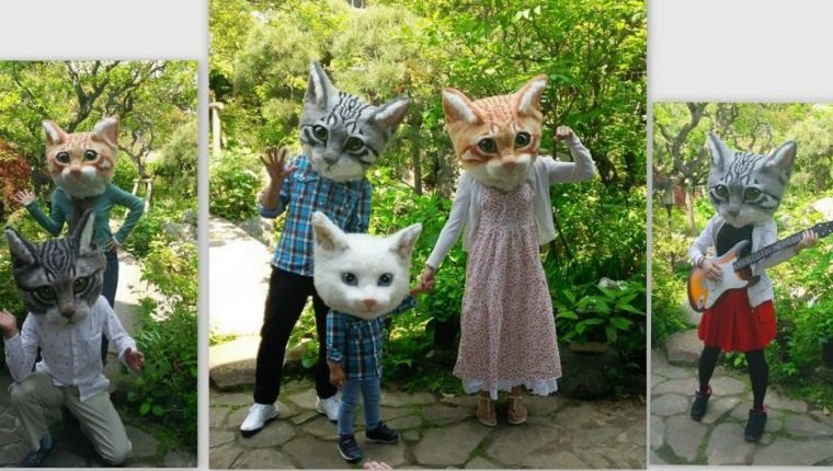 You Can Be A Cat Too With These Giant Realistic Cat Heads From Japan - CatTime & You Can Be A Cat Too With These Giant Realistic Cat Heads From ...