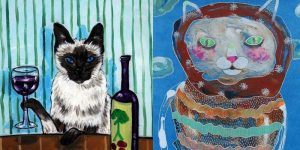 Awesome Cat Art [PICTURE GALLERY]