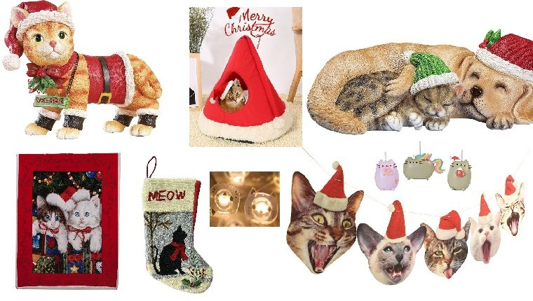 Deck The Paws With These 12 Cat Inspired Christmas Decorations ...