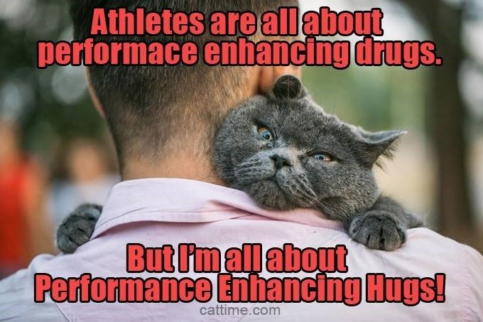 Performance Enhancing Hugs