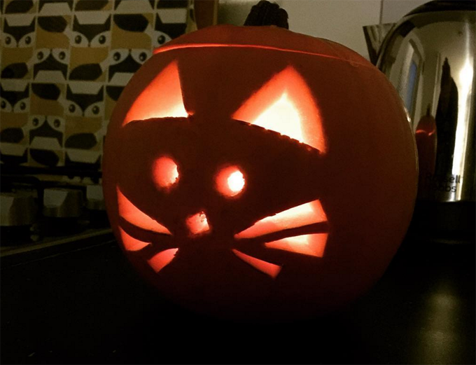 30 Greatest Halloween Cat Pumpkin Designs - CatTime