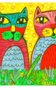 Cool Cat Art